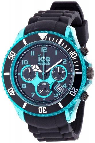 Ice-Watch Armbanduhr Ice-Chrono Big Big schwarz/türkis CH.KTE.BB.S.12 @Aamzon