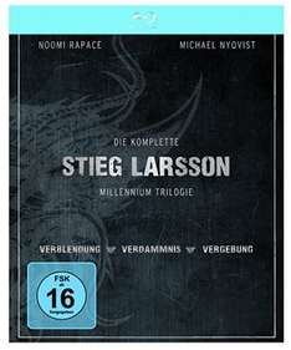 [Blu-ray] + DVD Millennium Trilogie für 9,68 € @amazon.de