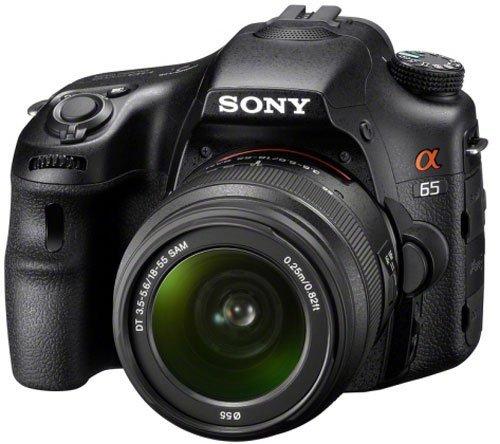 Sony Alpha 65 (SLT-A65VK) Kit mit 18-55mm Objektiv für 602,- @Amazon.fr