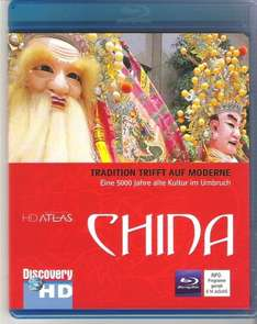 HD Atlas Discovery CHINA [Blu-Ray]für 2,99€ @Ebay