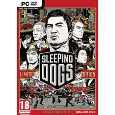Sleeping Dogs Downloadcode PC Spiel - Steam - Uncut