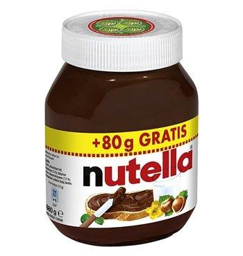 NUTELLA 880g  50% Rabatt für 1,99 pro Glas bei 11 Gläsern 21,89 € bei Allyouneed versandkostenfrei