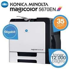 Konica Minolta Magicolor 5670EN High-Performance A4 Laser Drucker @iBood