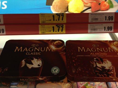 Magnum Classic/Almond 4er für 1,77€ statt 2,99€