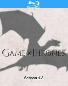 Game of Thrones - Season 1-3 [Blu-ray] für 69,50€ @Amazon.co.uk