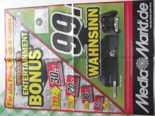 XBox 360 4GB für 99,-€ (vermutlich Lokal) + Verrückter Entertainment Bonus @ Media Markt Pirmasens