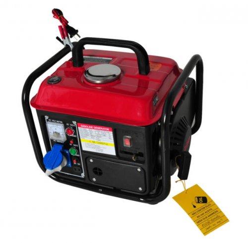 Strom-Generator von KRAFTHERTZ Benzin Power Stromerzeuger Stromaggregat 850 Watt  Ebay 69,99
