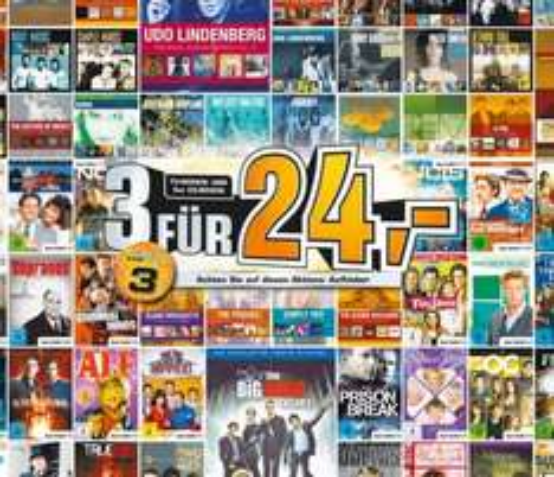 3 CD-Boxen oder Serien-Staffeln (auf DVD) für 24€ bei Saturn
