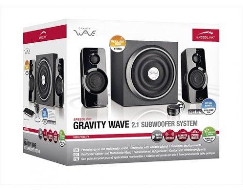 "Speedlink™ - Subwoofer System ""GRAVITY WAVE 2.1"" (B-Ware) ab €22,94 [@MeinPaket.de]"