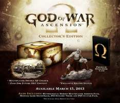 God of War: Ascension - Collector's Edition (PS3) für 51€ @Amazon.co.uk