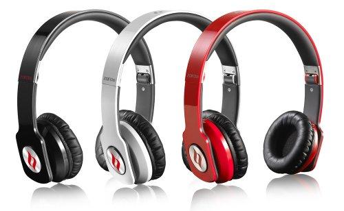 Noontec Zoro Professional On-Ear (schwarz, rot, weiß) MIT GUTSCHEIN