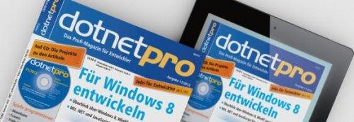 2 Ausgaben dotnetpro gratis lesen