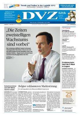2 Ausgaben ''DVZ-Brief'' kostenlos statt 18,60€