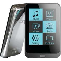 Coby MP823 Video-MP3-Player (2 Zoll) Touchscreen, 8GB Schwarz für 30€ @Amazon Marketplace