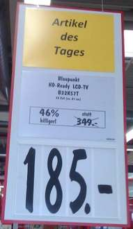 [lokal] Blaupunkt LCD-TV B32K57T @ Kaufland NSU (Deal of the Day - 50%OFF)
