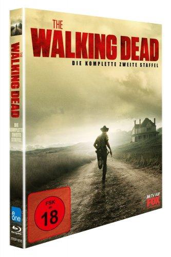 The Walking Dead - Die komplette zweite Staffel (3 Discs) [Blu-ray] UNCUT inkl. Vsk für 24,25 € aus Amazon Spanien