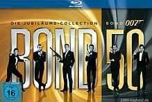 LOKAL - 25 Jahre Media Markt Mülheim a.d. Ruhr - James Bond Jubiläums-Collektion Blu-Ray (22 Discs), weitere Angebote im Text