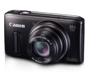 Canon PowerShot SX 240 HS Digitalkamera (12,1 Megapixel, 20-fach opt. Zoom, 7,6 cm (3 Zoll) Display, bildstabilisiert) schwarz inkl. Vsk für ca. 168 € [Amazon.uk]