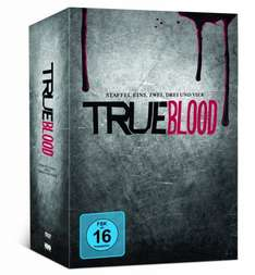True Blood Staffel 1-4 (+ Comic und Kochbuch) @ Amazon.de
