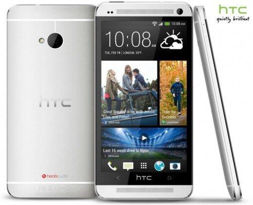 HTC One 32 GB Glacial Silver ohne Simlock 499€ inkl. VSK
