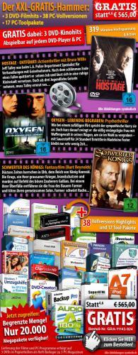 PEARL Gratis Programme und Filme Paket ohne MBW