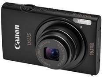 CANON Digital Ixus 125 HS - Schwarz bei Pixmania