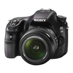 Sony Alpha 58 Kit 18-55mm  für 382,99 € @notebooksbilliger.de
