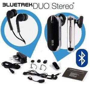 Bluetrek Duo Stereo Bluetooth Headset mit SRS 3D Surround Sound-System 18,90 € ibood