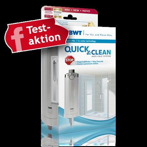 BWT Quick & Clean Antikalk-Filtersystem für Dusche um 29,95 + Versand