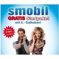 SMOBIL GRATIS Startpaket mit 5€ Guthaben GRATIS an jedem Sonntag im Mai