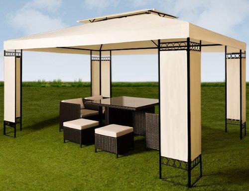 Pavillon ELDA XXL 3x4m Metall Partyzelt für 117,95€ @Ebay