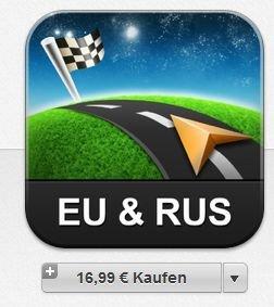 (iOS) Sygic Europa & Russland: GPS-Navigation für 16,99€