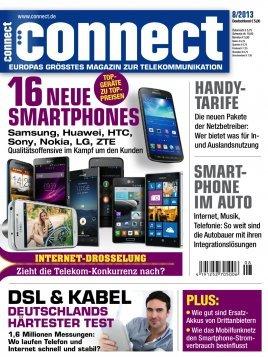 """Jahres-Abo der Zeitschrift """"Connect"""" abzgl. Gutschein für 17,90 €"""