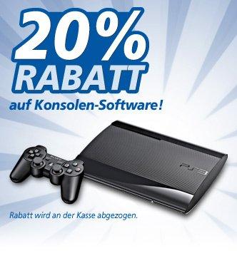 [real,- offline bundesweit] 20% Rabatt auf Konsolen-Software 8.07.-13.07.