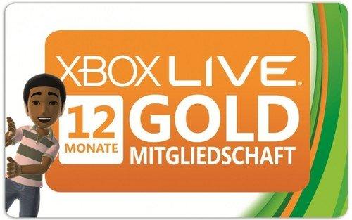 Xbox Live Gold 12 Monate 31,05€