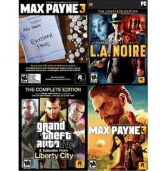 Grand Theft Auto IV Complete/Max Payne 3 Complete/LAN Complete [Steam] für 19.40€ @Amazon.com