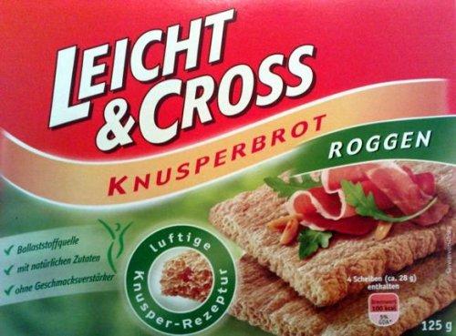 LEICHT&CROSS Knusperbrot (Weizen oder Roggen)