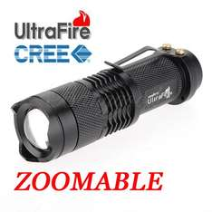 300LM CREE Q5 LED Taschenlampe UltraFire 300LM CREE XR-E