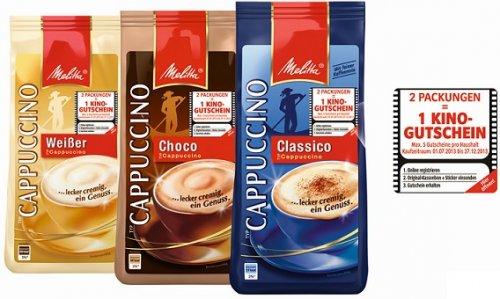 [Kaufland Südwesten] Melitta Movie Choice Kinogutscheine - 3,98€ incl. 2x Cappuccino