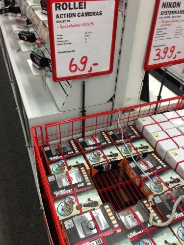 [Berlin] Rollei Bullet 3S 720P - inkl. wasserdichtem Gehäuse - Action Cam - Media Markt