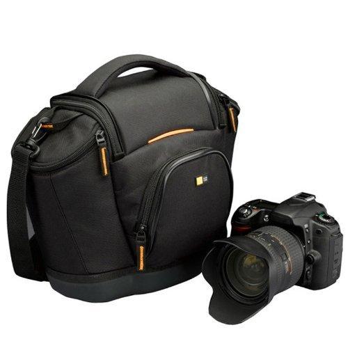 Case Logic SLRC202 SLR Camera Bag M Kameratasche inkl. Hammock System & Hartschalenboden (für Spiegelreflex) schwarz/orange für 28€