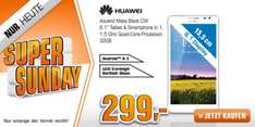 "[Saturn Super Sunday] HUAWEI Ascend Mate black (6,1"" Phablet) ab 299€"