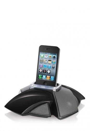 JBL  iPhone/iPod-Lautsprecherdock On Stage IV, schwarz 59,90 statt 179,00