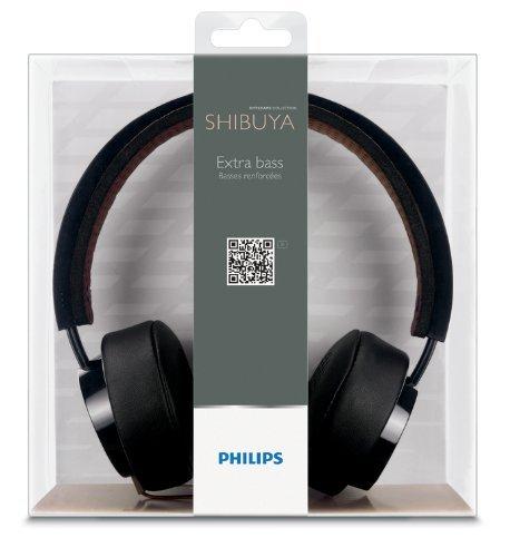 Philips CitiScape Collection Shibuya (SHL5200BK) HiFi-Kopfhörer schwarz/braun für 15€ @Redcoon