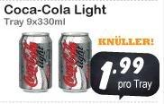 9 Dosen Coca Cola light für 1,99 EUR (0,22 EUR pro Dose) [lokal Vaals/NL]
