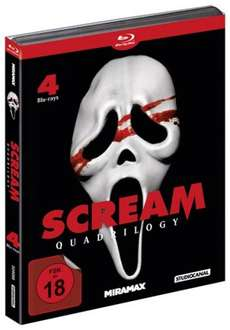 Scream Quadrilogy (Blu-ray) ohne Vsk für 20,90 € [Media-Dealer.de]