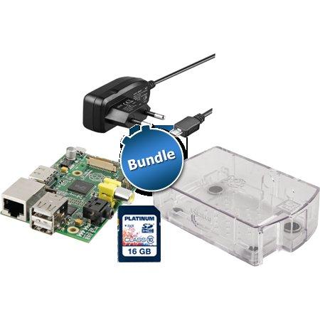 Raspberry Pi Model B (512MB) inkl. Gehäuse, Netzteil, 16 GB SHDC für 49,99 € @ zackzack