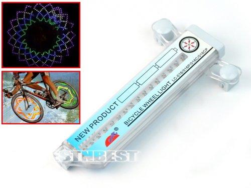 LED-Fahrradspeichenbeleuchtung mit Mustern für 7,61€