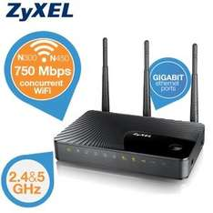 ZyXEL NBG5615 Simultaneous Dual-Band Wireless Router N750
