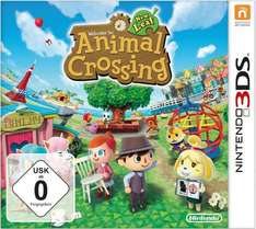 Animal Crossing: New Leaf & Mario & Luigi: Dream Team Bros. für je 33,33 Euro (Amazon)